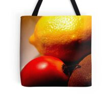 What the hell is a tamarillo anyway? Tote Bag
