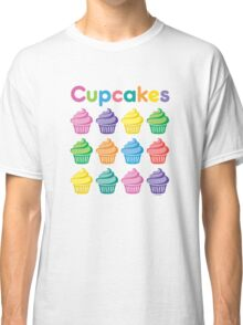 Cupcakes Pretty Classic T-Shirt