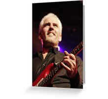 james howard - LIVE! Greeting Card