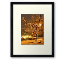 """A Snowy Evening in Knoxville (no.3, from this series)""... prints and products  Framed Print"