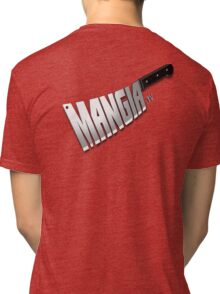 MangiaTV Logo Tri-blend T-Shirt