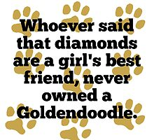 Goldendoodles Are A Girl's Best Friend by GiftIdea