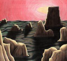 Alien Landscape by designertrow