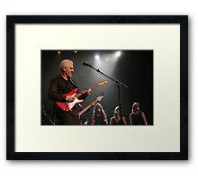 james howard LIVE! Framed Print
