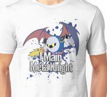 I Main Meta Knight - Super Smash Bros. Unisex T-Shirt
