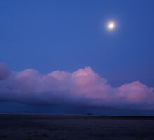 Full Moon rising over Shoal Point by AlexKokas