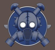 Art Deco Midnight Gasmask by Rustyoldtown