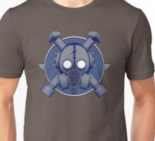 Art Deco Midnight Gasmask Unisex T-Shirt