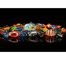 Glass candy Photographic Print