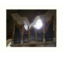 Wilten Basilica Organ Art Print