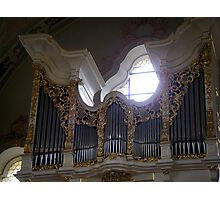 Wilten Basilica Organ Photographic Print