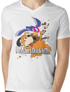 I Main Duck Hunt - Super Smash Bros. Mens V-Neck T-Shirt