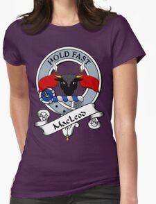 00066 Green Macleod Clan/ Family Tartan  Womens Fitted T-Shirt