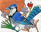 Blue Note (The Blue Jay) by Lynnette Shelley