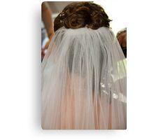 The bridal veil  Canvas Print