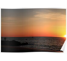 Jersey Sunrise Poster