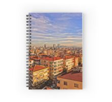 Istanbul Skyline Spiral Notebook