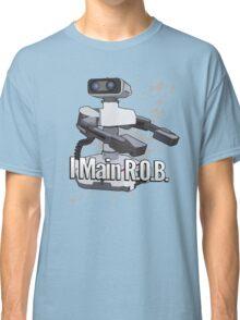 I Main R.O.B. - Super Smash Bros. Classic T-Shirt