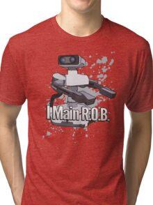 I Main R.O.B. - Super Smash Bros. Tri-blend T-Shirt