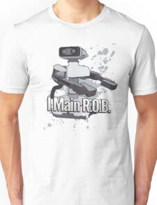 I Main R.O.B. - Super Smash Bros. Unisex T-Shirt