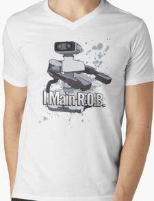 I Main R.O.B. - Super Smash Bros. Mens V-Neck T-Shirt