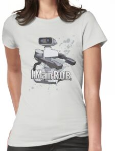 I Main R.O.B. - Super Smash Bros. Womens Fitted T-Shirt