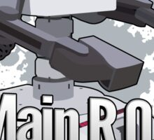 I Main R.O.B. - Super Smash Bros. Sticker