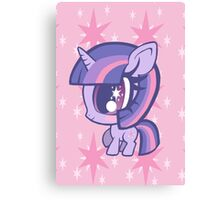 Weeny My Little Pony- Twilight Sparkle Canvas Print
