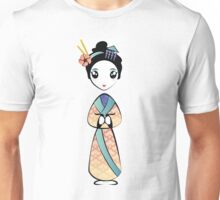 Little Geisha Girl Unisex T-Shirt