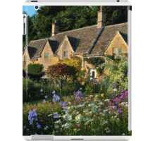 Ancient Cotswold Cottages at Bibury. iPad Case/Skin