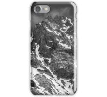 Snow on the Mountain Top iPhone Case/Skin