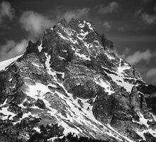 Snow on the Mountain Top by KellyHeaton