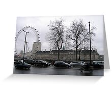 Millenium Eye, London Greeting Card