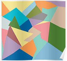 Shapes and More Shapes Poster