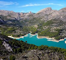 Guadalest, near the Costa Blanca, Spain. by rodsfotos