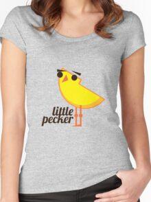 Little Pecker Women's Fitted Scoop T-Shirt