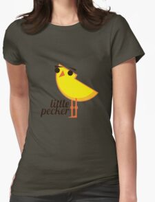 Little Pecker Womens Fitted T-Shirt