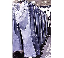 Denim Photographic Print