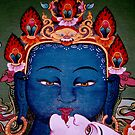 union of now. tibetan painting, northern india by tim buckley | bodhiimages