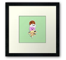 Lick My Face! Framed Print