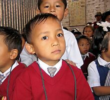 look. school, kathmandu by tim buckley | bodhiimages