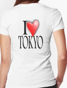 I LOVE, TOKYO, Japan, Japanese City,  47 prefectures of Japan T-Shirt