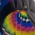 Hot air ballon At Take Off by Luann wilslef