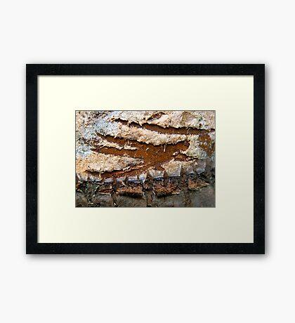 Zorro Abstract Framed Print