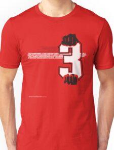 T-Shirt 3/85 (Public Office) by Renald Vettese Unisex T-Shirt