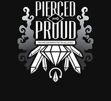 Pierced and Proud - Smokey Quartz Unisex T-Shirt