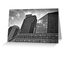 Windows on Logan Square - Philadelphia, PA Greeting Card