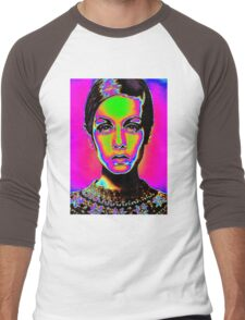 Pop Art fashion Men's Baseball ¾ T-Shirt