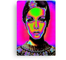 Pop Art fashion Canvas Print