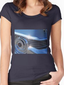 1954 Cadillac Series 62 Coupe DeVille - Chrome Vol 1 Women's Fitted Scoop T-Shirt
